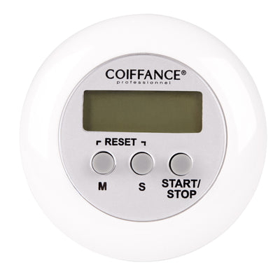 coiffance - white down timer