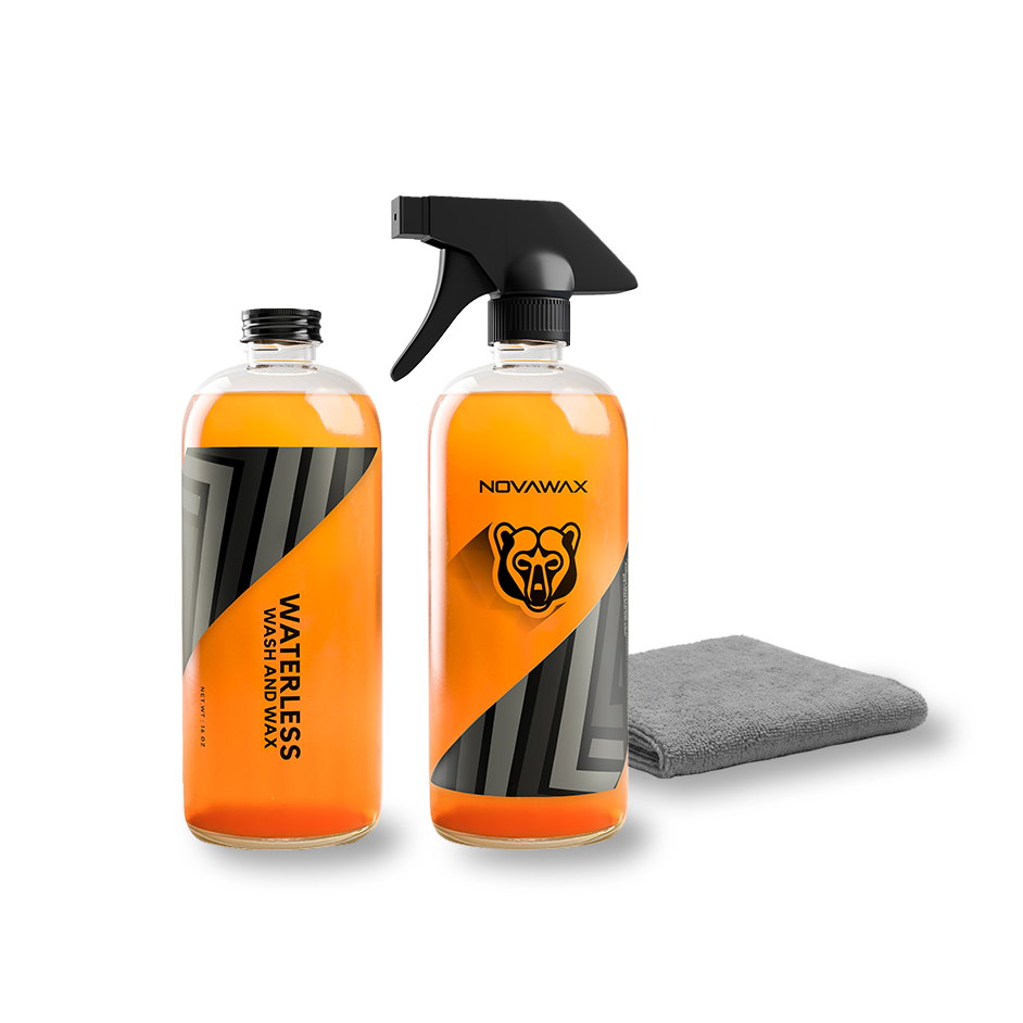 WATERLESS WASH & WAX FORMULA