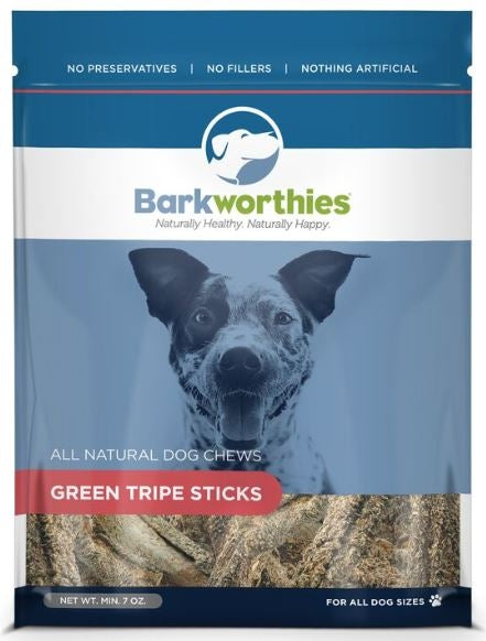 Barkworthies Green Tripe SticksDog Treats