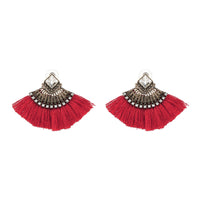 Ethnic Vintage Drop Earrings