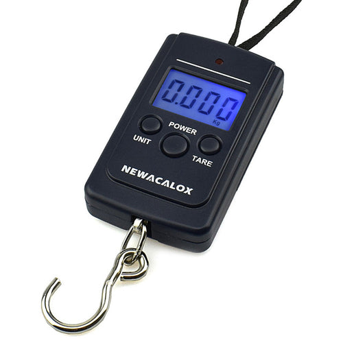 Portable Mini Electronic Digital Scale, (40kg- 88 lb )- Hook Pocket  Scale for -Fishing, Luggage, Travel