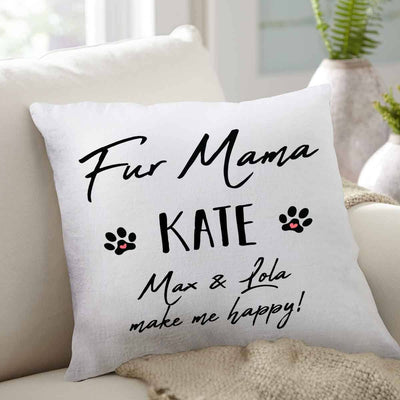 Throw pillow for Fur Mama