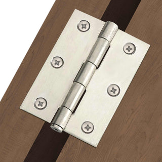 Image: HINLP4CP Chrome Plated Hinges, 100X67X2mm