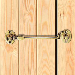 Image: Sale - Silent Pattern Cabin Hook and Eye 103.5mm - AA61-PB