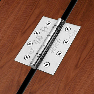 Image: 102x76mm Grade 13 Hinge, also suits fire doors - 2 Sizes