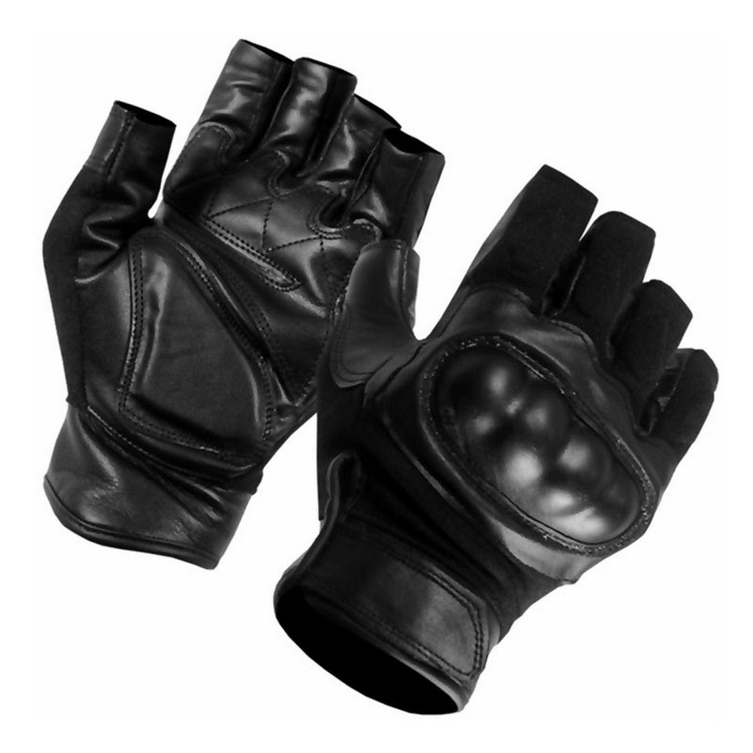 Hard knuckle leather gloves