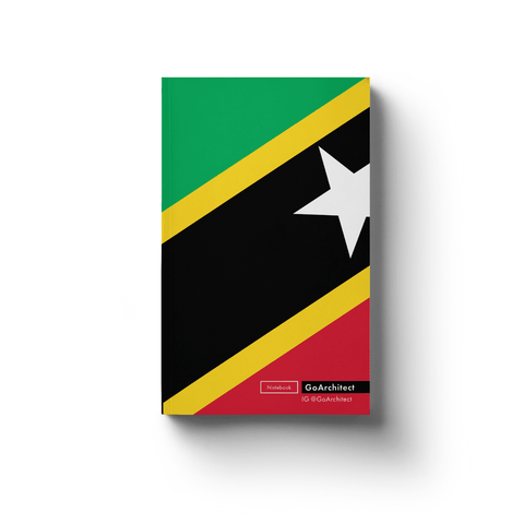 Saint Kitts and Nevis notebook