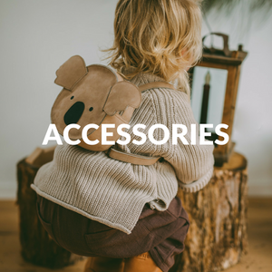 children accessories - toddler backpacks - childrens bags - leather bags - leather purses - donsje - muslins - cot blankets - swaddle blanket