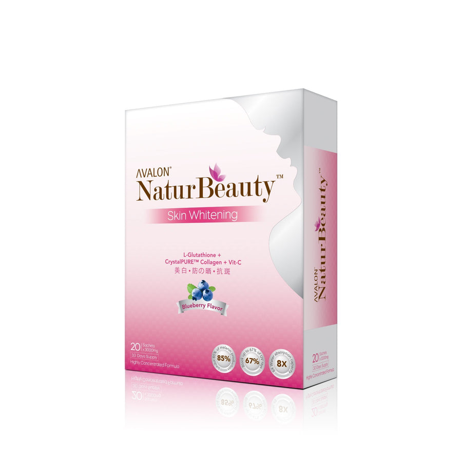 Avalon NaturBeauty Skin Whitening (CrystalPure™ Collagen + Glutathione) - Avalon Health & Beauty