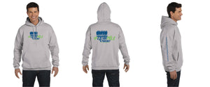 Limited Unisex Extra Mile Podcast Pullover Training Marathon Gray Hoodie (Men's Cut)
