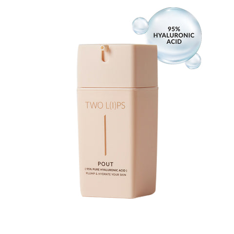 Two Lips Pout Hyaluronic Acid Hydrating Serum Skin Hydration Two Lips - Beauty Emporium