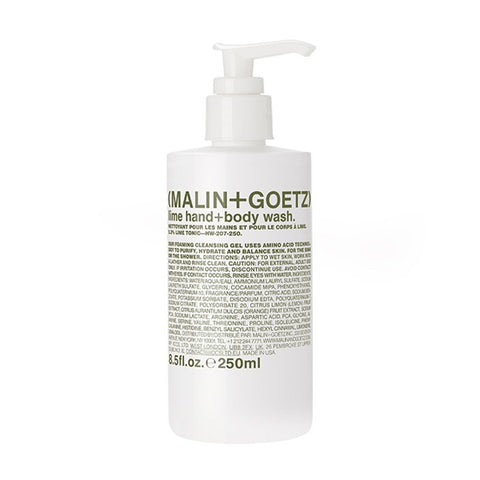 Malin + Goetz Lime Hand + Body Wash Hand Wash Malin+Goetz - Beauty Emporium