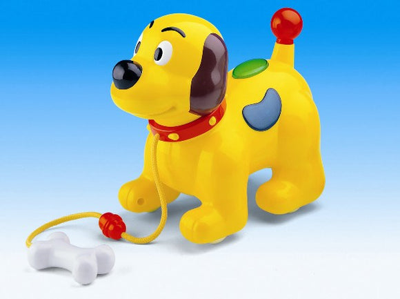 Megcos Toys Pull Along Musical Dog Toy ~BRAND NEW~