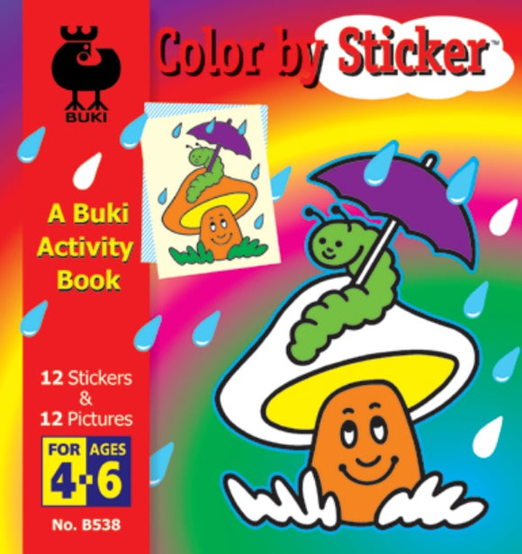 Buki Activity Book Color By Sticker