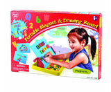 PlayGo Portable Magnet and Drawing Board