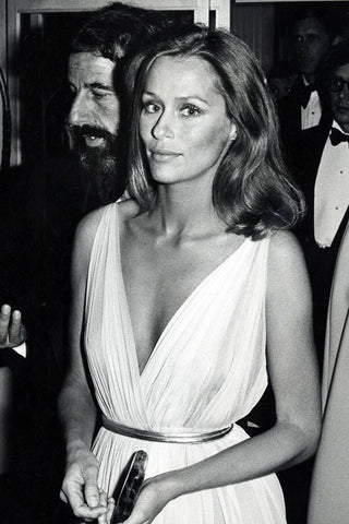 American supermodel and actress Lauren Hutton