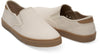 Birch Heritage Canvas Men'S Baja Slip-Ons