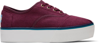 Raisin Heritage Canvas Women's Cordones Boardwalk Sneakers