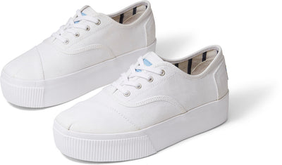 White Heritage Canvas Women's Cordones Boardwalk Sneakers
