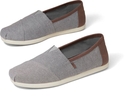 Frost Grey Chambray Mens Classics Ft. Ortholite