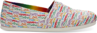Multi Unity Print Canvas Mens Classics