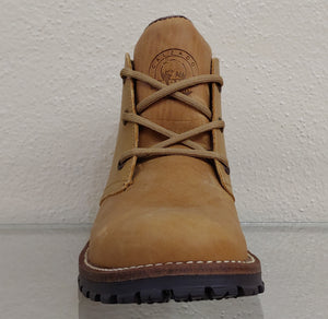 Mens Rustic Honey Ankle Boot