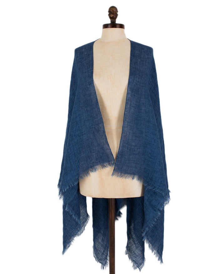 Destin Accessories Jeans/Light / O/S Cape
