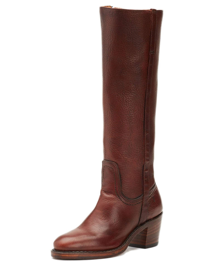 Frye Shoes Brown / 6 Addison Tall Zip