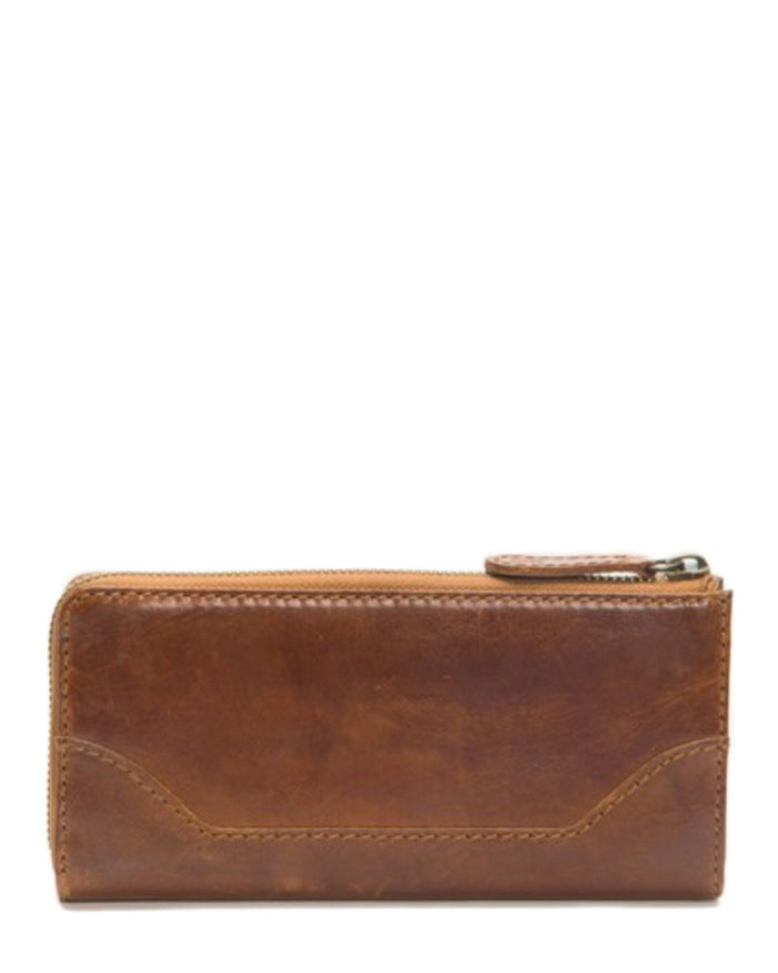 Frye Accessories Cognac / O/S Melissa L Zip Wallet