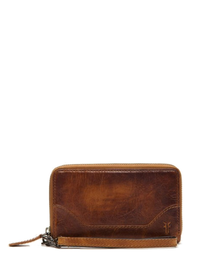 Frye Accessories Cognac / O/S Melissa Zip Phone Wallet