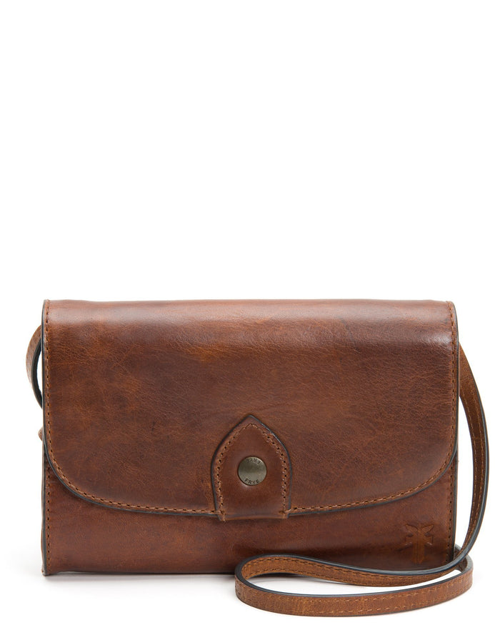 The Frye Company Accessories Cognac / O/S Melissa Wallet Crossbody