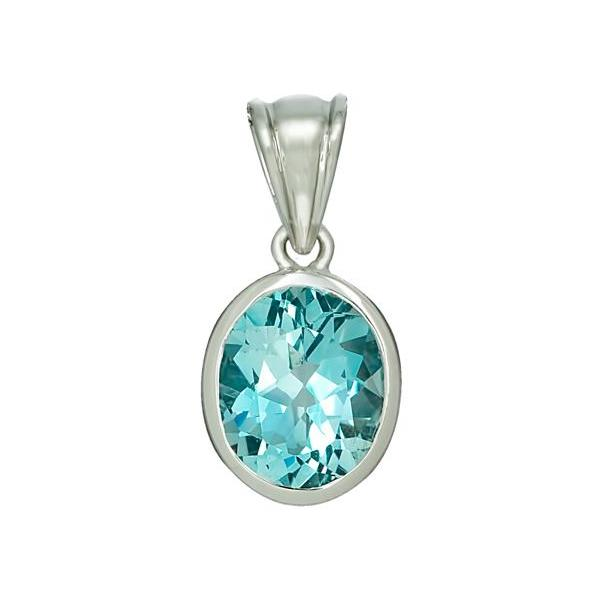 Affordable White Gold Pendant