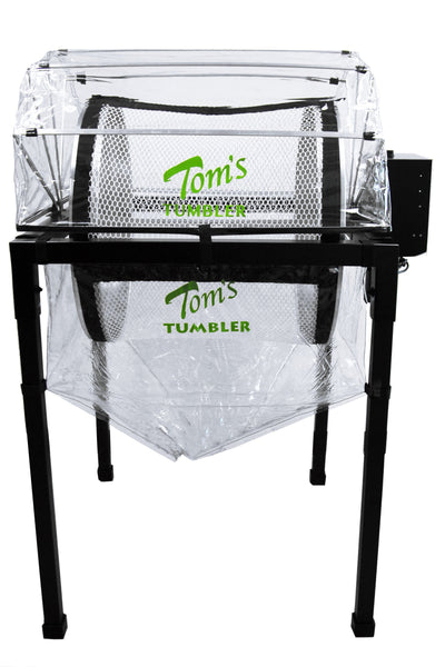Tom's Tumbler™TTT 2600  Dry Trimmer, Separator and Extraction System - TomsTumbleTrimmer.com