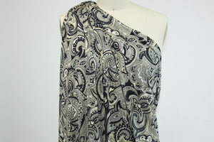 Passionate for Paisley ITY Jersey - Gray/Ivories/Black