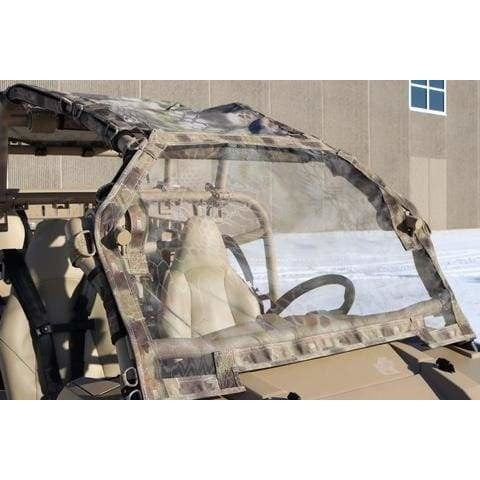 Mesh Windshields for Polaris Dagor and MRZR Defense Vehicles