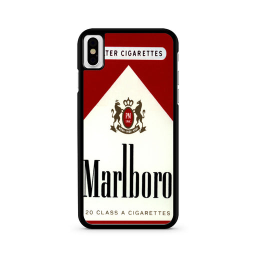 Marlboro Cigarette iPhone X case
