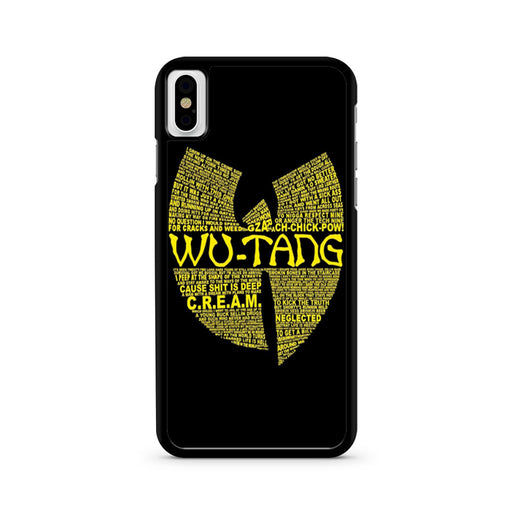 Wu Tang Clan Logo iPhone X case