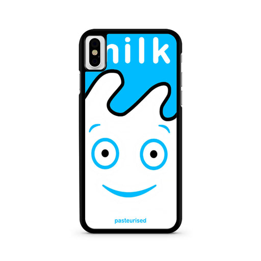 Blur Coffee & TV Milk Carton iPhone X case