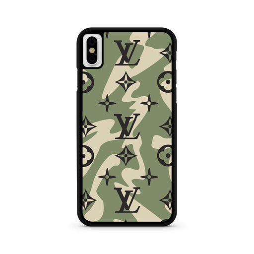Louis Vuitton Camo iPhone X case