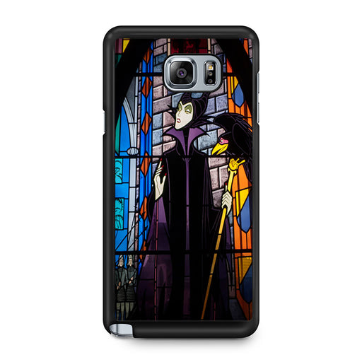 Maleficent Stained Glass Samsung Galaxy Note 5 case