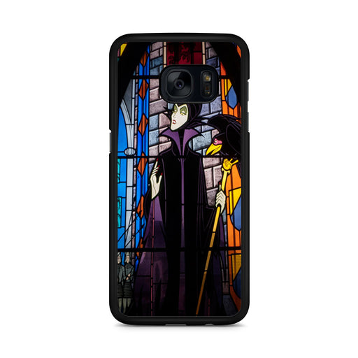 Maleficent Stained Glass Samsung Galaxy S7 Edge case