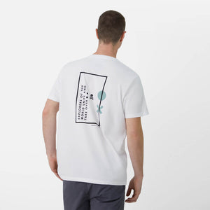 T-Shirt White Green