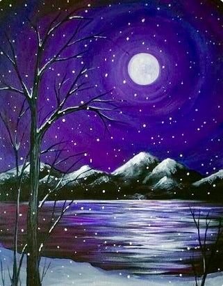 Snow Lake Painting Party Make & Take