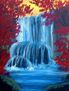 Hidden Waterfall Painting Party Make & Take