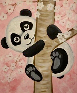 Panda Painting Party Make & Take