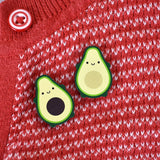 Avocado Best Friends Kawaii Wooden Pins