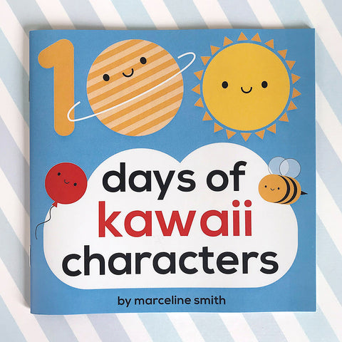 100 Days of Kawaii Characters Book
