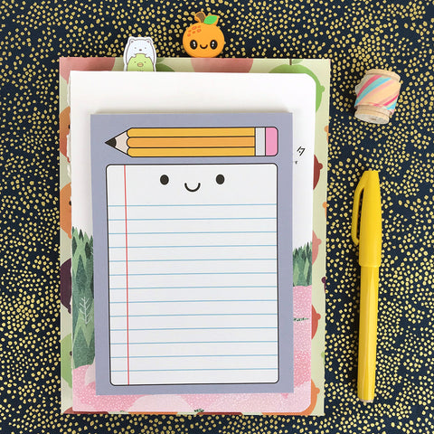 Happy Stationery Kawaii Notepad