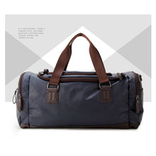Leather Travel Duffle Bag