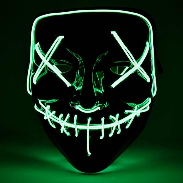 LED Power Mask - Smile